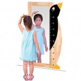 키재기 거울(팽귄)