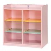 사물함 6인용(영아용)-Pink